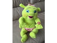 Crying baby shreck. Includes batteries as well