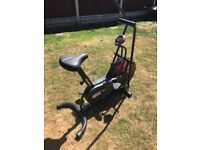 Marcy dual action exercise bike