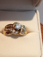 More than a full Karat Diamond Ring for over 30% Discount