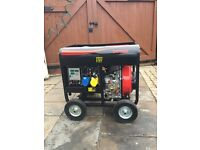 New Diesel DG 5500 6.5/6.8 KVA electric start