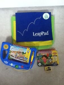My First Leap Pad with Dora Book and Carrying Bag