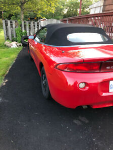 1999 Candy Apple Red Convertible