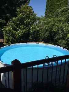 "16""x48"" above ground swimming pool"
