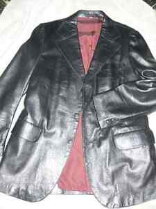 Black Leather Jacket West Island Greater Montréal image 2