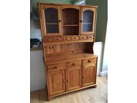 Beautiful solid pine Welsh dresser