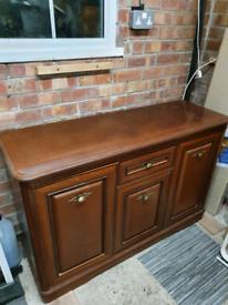 Mahogany sideboard