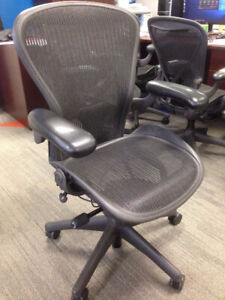 Fantastic Condition Herman Miller Aeron Chairs Fully Loaded