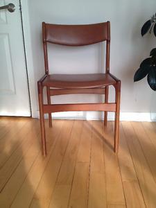 Chaise en Teck ** Vintage ** Teak Chair