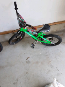"16"" Hotwheels boys bike"