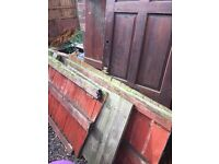 Wood for fire free to a good home