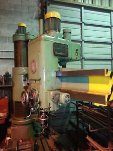 KOLB Radial Arm Drill Press NRK 53 Cnd$ Campbell River Comox Valley Area image 5