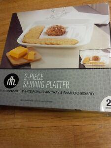2 piece serving plater