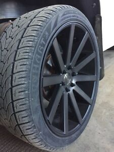 "24"" dub shot calla rims"