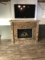 Fireplace and masonary/ stone veneer services