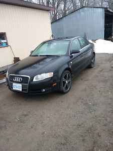 Audi A4  B7 Quattro 2006 parts or repair 2.0T