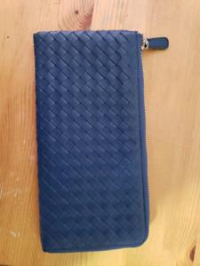 New soft leather Bottega wallet