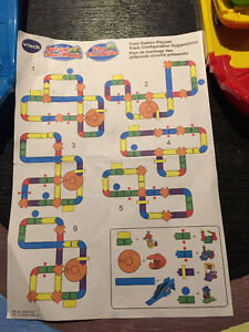 Vtech Train set- like new