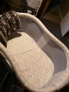 Gently used bassinet