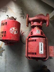 2 electric motors for furnace