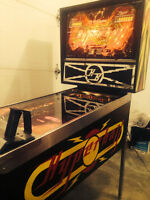 Williams Hyperball pinball machine