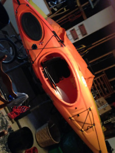 10.5 Retractable Skeg Mystic kayak