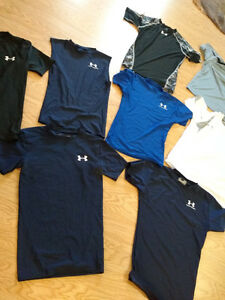 Under Armour Compression and T-Shirts
