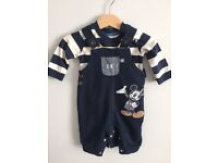 Boys Clothing Bundle - 8 Items - 0-3 Months