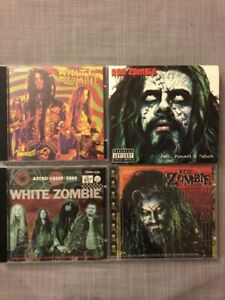 White Zombie and Rob Zombie CD collection
