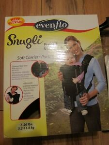 Evenflo  SnugliL Baby front and back carrier