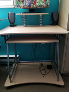 Computer stand / desk & chair