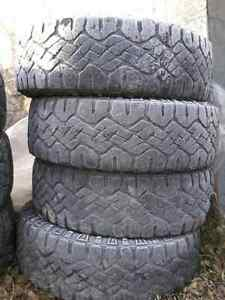 For Sale used 20 inch Winter truck tires