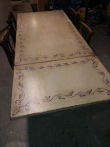 Ikea Dining Table with Drop-down Leaf $ 50.00 FIRM