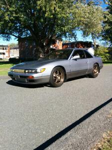 1992 Nissan Silvia s13 K's - rhd plaquée, très propre / clean