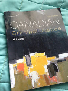 Canadian Criminal Justice: A Primer 4th Edition - $35 Cambridge Kitchener Area image 1