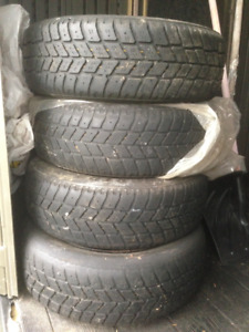Winter tires and rims for sale (Kingstar)