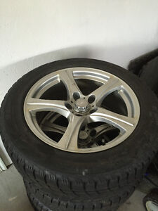 4 Winter Tires and Rims for G35
