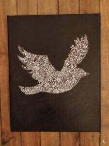 Canvas art wall decor