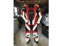Alpinestars motorcycle rc 1 leathers, mint condition