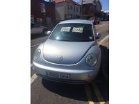 VW beetle 2002 1.6 ltr 120000