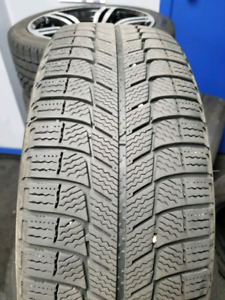 215/65R16 Michelin Xice winter with steel rims