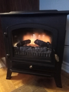 Foyer electrique electric stove fireplace