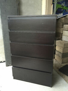 5 Drawer Tall Boy Dresser   ***ONLY 1 LEFT***