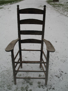 Antique Wood Chair--for restoration