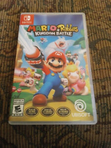 Mario +Rabbids Kingdom Battle for Switch very good condition