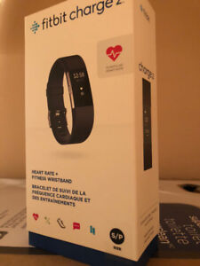 (New) Fitbit Charge 2, Sealed!