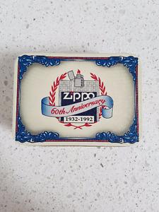 ZIPPO 60TH ANNIVERSARY BOX