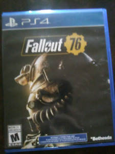 Fallout 76 ps4. 50$