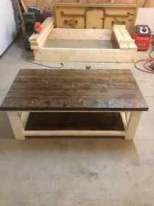 Rustic x/Farmhouse style coffee table Regina Regina Area image 3