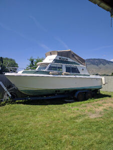 25 ft Sandster Command Brigde Cruiser for sale