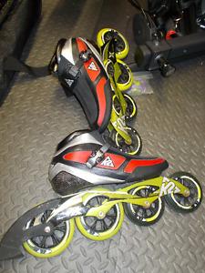 Large lot of Rollerblades! Race/Rec/pads/skatebag